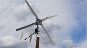 diy wind turbine car alternator windmill pvc blades