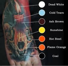 Eternal Ink Color Chart Levgen Signature Series Set Eternal Tattoo Ink