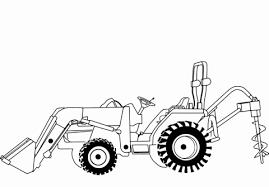 Kleurplaat Tractor Luxe Kleurplaat Trekker Met Grasmaaier Archidev