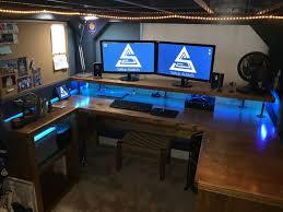 building a custom computer desk best 25 ideas for inspirations 5