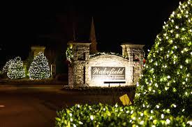xmas lighting decorations. Neighborhood Entrance Christmas Lights And Decorations Xmas Lighting C
