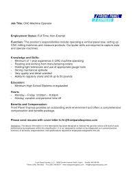 Cnc Lathe Operator Resume Sample Best of Machine Operator Resume Production Mach Luxury Machine Operator