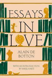 essays in love ebook by alain de botton  essays in love by alain de botton