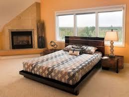 modern platform bed wood. Zen Style Platform Bed Modern Wood