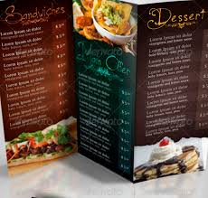 Restaurant Menu Design Templates Restaurant Menu Design Templates Lorgprintmakers Com