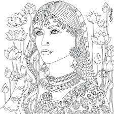 native american coloring page coloring pages