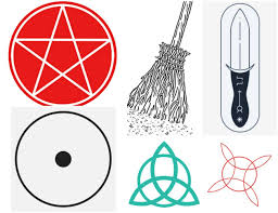 Wiccan Symbols And Meanings Chart Wiccan Symbols