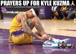 Sports › kyle kuzma memes & gifs. Nba Memes Breaking Kyle Kuzma Heads To Locker Room Facebook