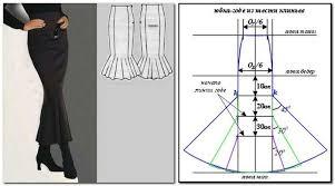 Mermaid Skirt Pattern Mesmerizing Patterns Skirts Sewing Design Crafts Ideas Crafts For Kids