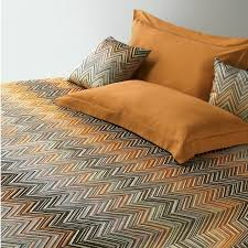embroidered missoni janet bedding