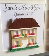 house warming gift frame personalised lego frame feesten speciale gelegenheden