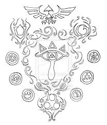 85 Best Legend Of Zelda Coloring Pages Images On Pinterest Hairstyle