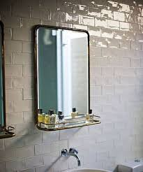 The Simple Beauty of Vintage Metal Mirrors