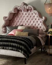 Enchanting Tufted Bed Frames Queen Glamorous Menards Gray For King ...
