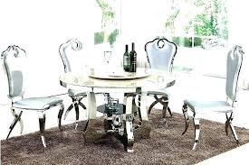 modern round table and chairs contemporary dining table set glass round dining table and chairs modern