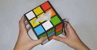 rubik s cube tissue box
