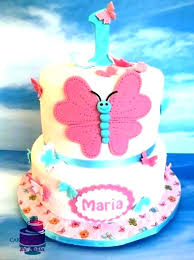 Butterfly Birthday Cakes For Girls Awesome Cake Decorating Templates