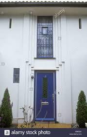 gidea park es england art deco style moderne 1934 front door and window exhibition house architect