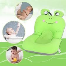 foldable non slip cute frog baby bath mat soft bathing cushion bathtub 2 intl