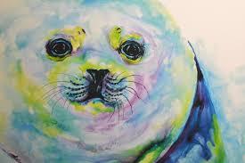 sea life paintings artists alaska artist v rae at aslc this weekend seward city