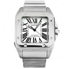 want to buy cheap cartier watches want to buy high copy cartier luxurious cartier santos steel automatic gorgerous mens watch cheap
