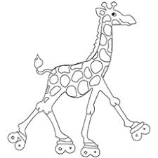 Funny Giraffe Coloring Pages At Getdrawingscom Free For Personal