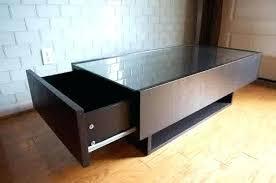 ikea glass coffee tables coffee table display case glass top with big drawer ikea glass coffee ikea glass coffee tables