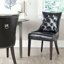 harlow 19 h tufted ring chair set of 2 silver nail heads mcr4716c set2 dining chairs