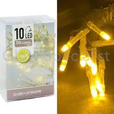 Led Lights 10 Lampjes Geel Koop Je Bij Glow Specialist