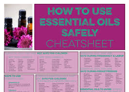 Essential Oils Chart Printable As Parents Its Essential To Be Intentional And Mindful