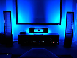 led mood lighting. mood lighting living room design with blue led strip light h