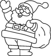 Small Picture Santa Coloring Pages Christmas Coloring Book Pictures To Color