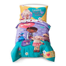 Doc McStuffins Toddler Bed Set