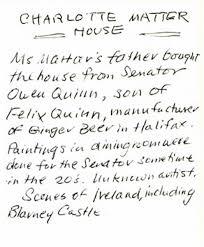 Quinn House | Painted Rooms of Nova Scotia