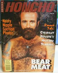 Old gay porn magazine called trade