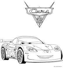 Disegni Cars 2 Da Stampare E Colorare Disegno Di Sally Carrera