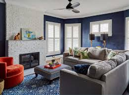 Add a refreshing element of purity and get inspired and learn some diy living room paint ideas pulled together by our experts. 10 Navy And Grey Living Room Ideas To Inspire Your Next Project