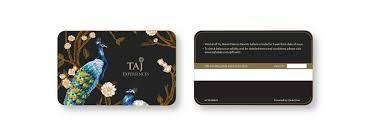taj launches taj experiences gift card