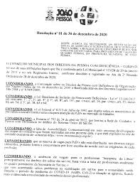 SEMANÁRIO OFICIAL