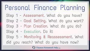 get personal finance homework help finance homework help personal finance planning steps