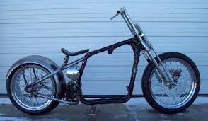 xl sportster conversion bobber chopper hardtail rigid frame dna