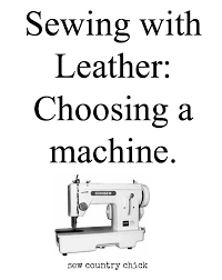 How To Sew Leather On A Home Sewing Machine