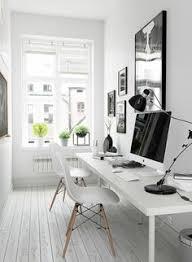 cool home office simple. Bureaux Contemporains, Bureau Blanc Suspendu Cool Home Office Simple E
