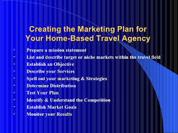 travel agency marketing plan marketing your travel business