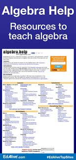 algebra help algebra help algebra and equation algebra help resources to teach algebra a collection of lessons calculators and