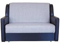 <b>Диван</b>-<b>кровать Шарм</b>-<b>Дизайн</b> Аккор Д <b>120</b> Светло-коричневая к/з