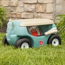 garden seat on wheels. Rolling Garden Seat On Wheels Stool Work Lawn Sit Down Creeper Cart Yard
