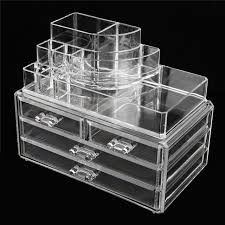 Eyeshadow Display Stand Extraordinary 32 Layers Clear Acrylic Cosmetic Drawers Makeup Storage Display