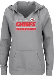 Kansas Hooded Sweatshirt Womens Determination City Grey Chiefs Self