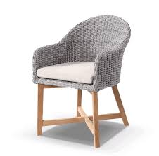 grey outdoor wicker dining chair rattan cane 1 seater teak gray wicker dining chairs